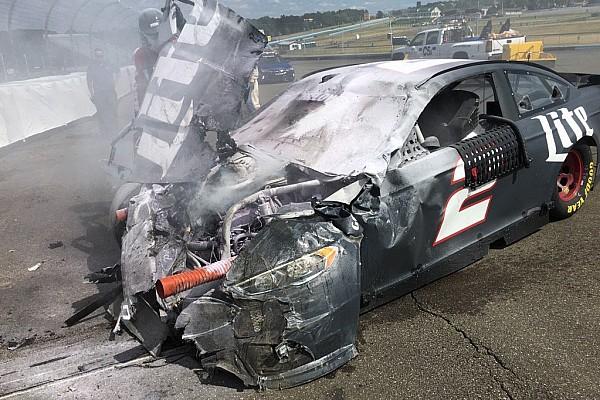 Keselowski illeso in un brutto incidente nei test a Watkins Glen