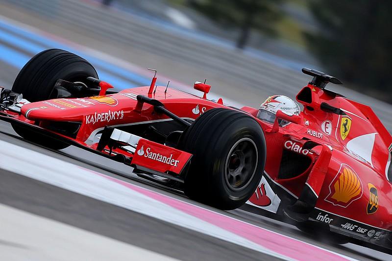 Test Pirelli 2017: Vettel porta al debutto le gomme rain larghe a Fiorano