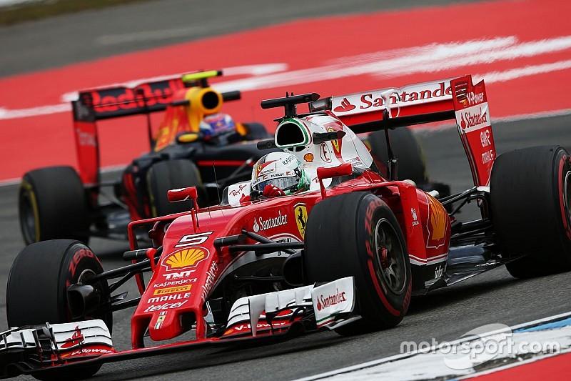 """Vettel: """"Ferrari is hier niet om vijfde of zesde te worden"""""""