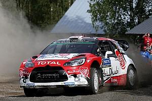 WRC Dagverslag WRC Finland: Meeke verzekert zich van zege, Abbring negende
