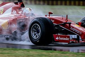 F1 Top List 美图欣赏: 维特尔测试2017款新轮胎