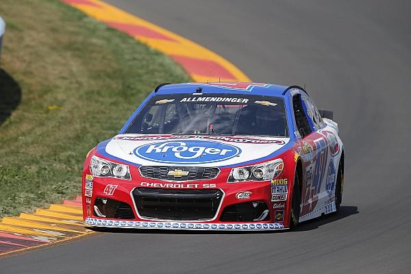 NASCAR Watkins Glen: A.J. Allmendinger fährt Freitagsbestzeit