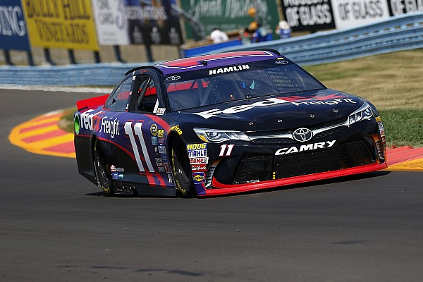 NASCAR-Spektakel in Watkins Glen: Erster Rundkurs-Sieg für Denny Hamlin