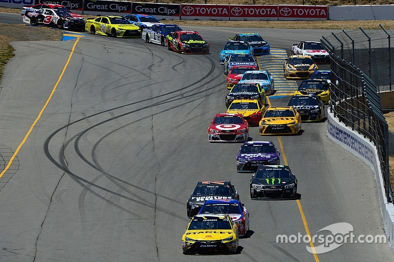 Romain Grosjean lobt die Handhabung der NASCAR bezüglich der Streckenlimits