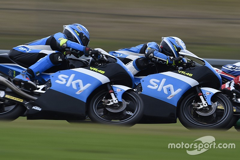 Lo Sky Racing Team VR46 va alla scoperta del Red Bull Ring