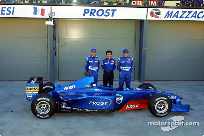 """Mazzacane: """"Perdí mi carrera en la F1 por haber ido a Prost"""""""