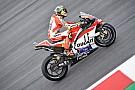 La Ducati vola, ma Iannone teme per il costato dolorante