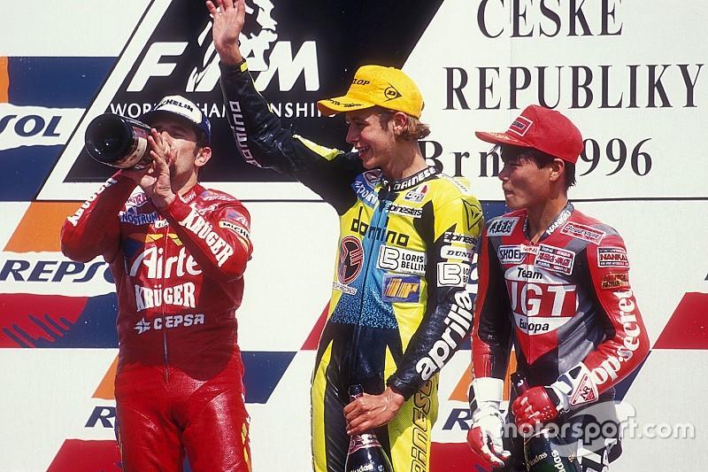 Valentino Rossi, 20 anni di vittorie e non sentirli