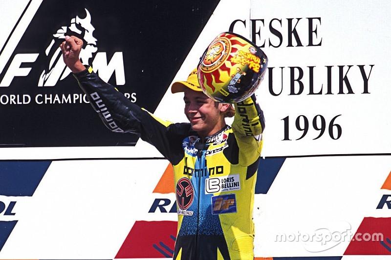 Bildergalerie: Der 1. Sieg von Valentino Rossi in der Motorrad-WM