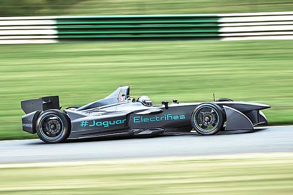 Jaguar muestra en video su primer monoplaza de Fórmula E