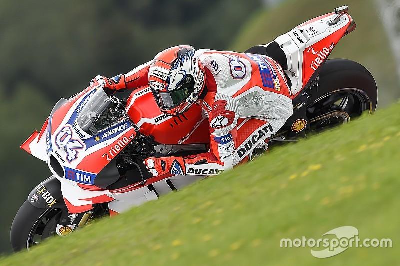 "Ducati по-прежнему ""несовершенна"", считает Довициозо"
