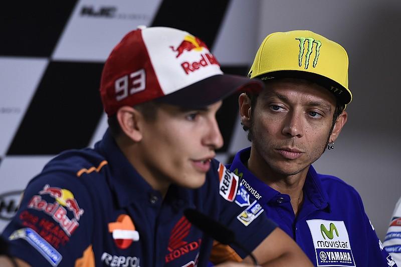 """Rossi: """"Racetempo van Marquez is nog een groot vraagteken"""""""