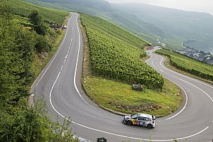 WRC Etappenbericht Rallye Deutschland: Mikkelsen führt, Ogier holt auf
