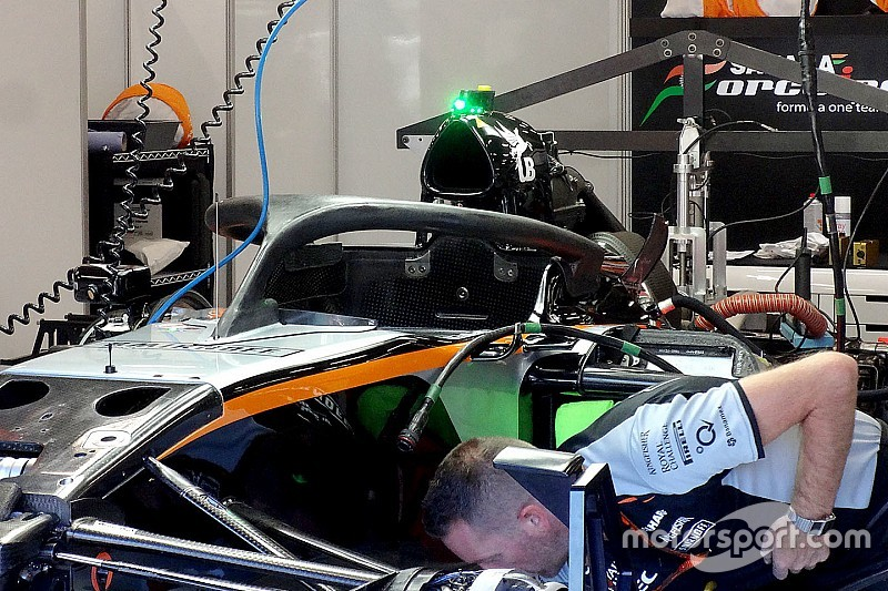 Auch Nico Hülkenberg und Force India testen Halo in Spa-Francorchamps