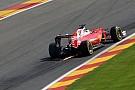 Vettel explica su enfado por radio en Spa