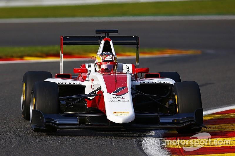 Charles Leclerc senza rivali domina Gara 1 a Spa-Francorchamps