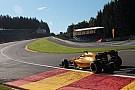 Un fuerte choque de Magnussen detuvo el GP de Bélgica