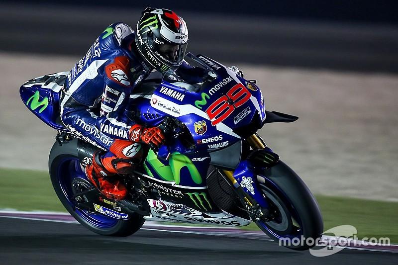 FP1 MotoGP Qatar: Lorenzo kalahkan Rossi