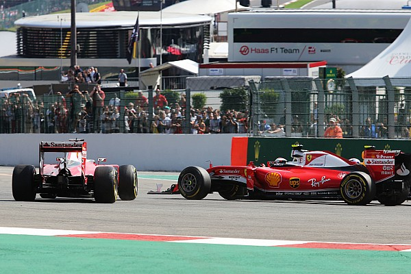 Vettel biedt Raikkonen excuses aan voor incident in La Source