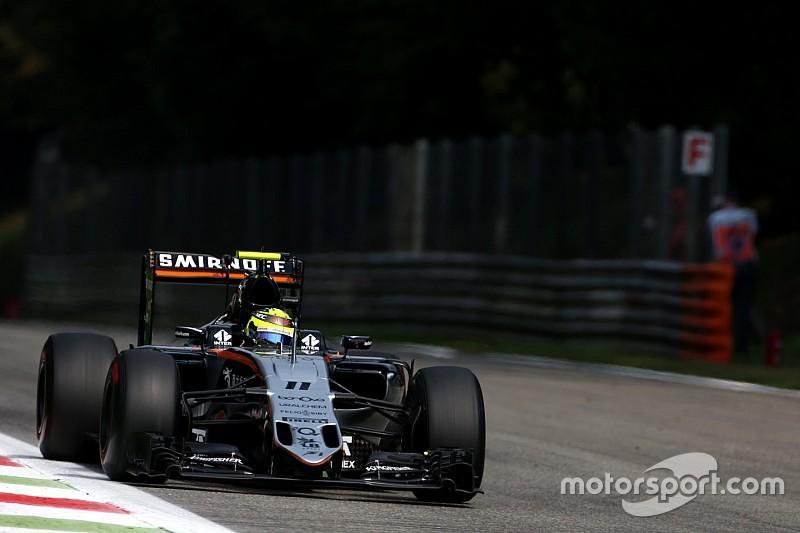 """Formel 1 in Monza: Sergio Perez """"schockiert"""" über Rückstand auf McLaren, Haas und Williams"""