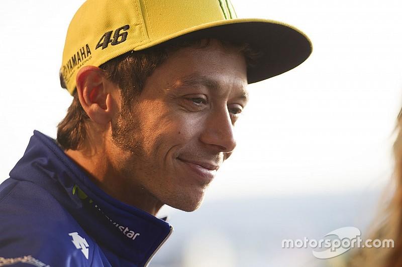 """Rossi: """"Tre piloti sono più veloci su asciutto. Fondamentale il warm up"""""""
