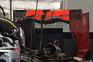 Haas introduce el alerón trasero de 'doble ondulado'