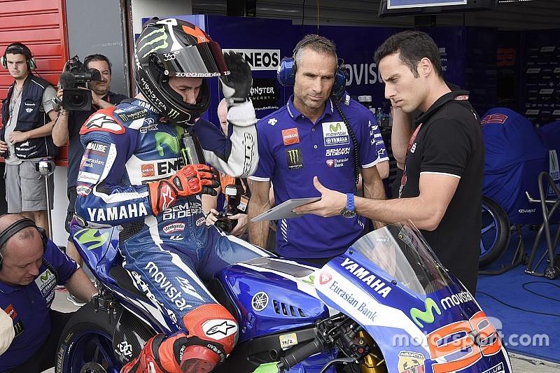 FP1 MotoGP Spanyol: Lorenzo tercepat, Rossi ketiga