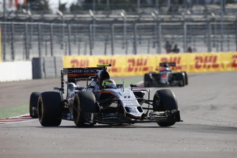 Egészen közelről a Force India új első szárnya: futurisztikus!