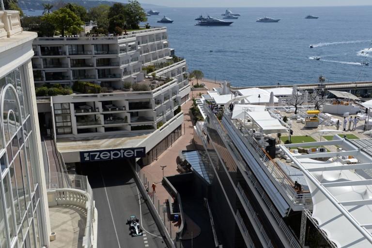 Jelenleg áll a víz a pályán Monacóban: mi lesz itt kérem szépen?!