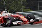 Vettel benézte a hármas kanyart, de egy szép forgással visszatért a pályára!
