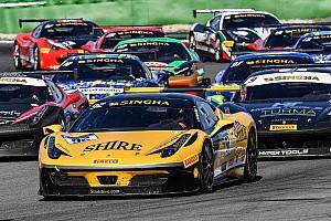 Ferrari Gara Smeeth campione a Hockenheim. Vittorie per Lovat e Grossmann