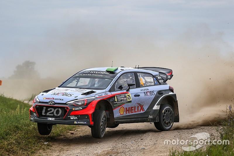 Hyundai Motorsport tunjukkan potensi podium di Polandia bersama i20 WRC Generasi Terbaru