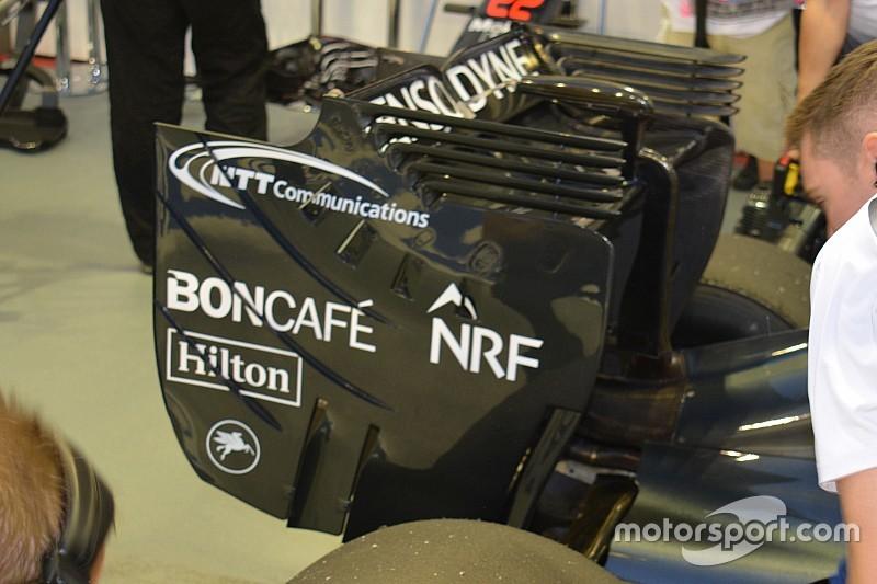 Технический брифинг: торцевые пластины заднего крыла McLaren MP4-31