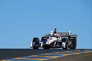 IndyCar Reporte de prácticas Castroneves luce en la práctica de apertura en Sonoma