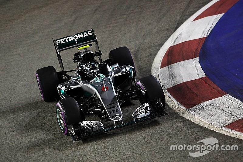 Formel 1 in Singapur: Mercedes-Pace von Freitag nicht aussagekräftig, sagt Nico Rosberg