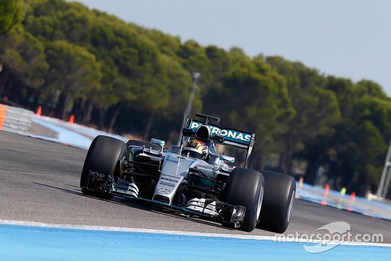 Тестовые машины не обеспечивают Pirelli нужный уровень прижимной силы