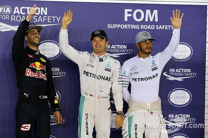 Rosberg scoort pole in Singapore, Verstappen vierde op de grid
