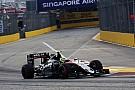 Sergio Pérez no cree que perderá su décimo puesto en Singapur
