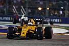 """Magnussen: """"Punt in Singapore een boost voor Renault"""