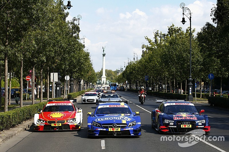 Video: DTM-Demorunden in Budapest