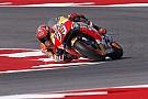 Aragon, Libere 1: Marquez subito veloce, ma Valentino è vicino