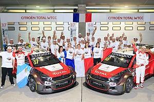 WTCC Crónica de Clasificación José María López se llevó la pole y Citroën el título