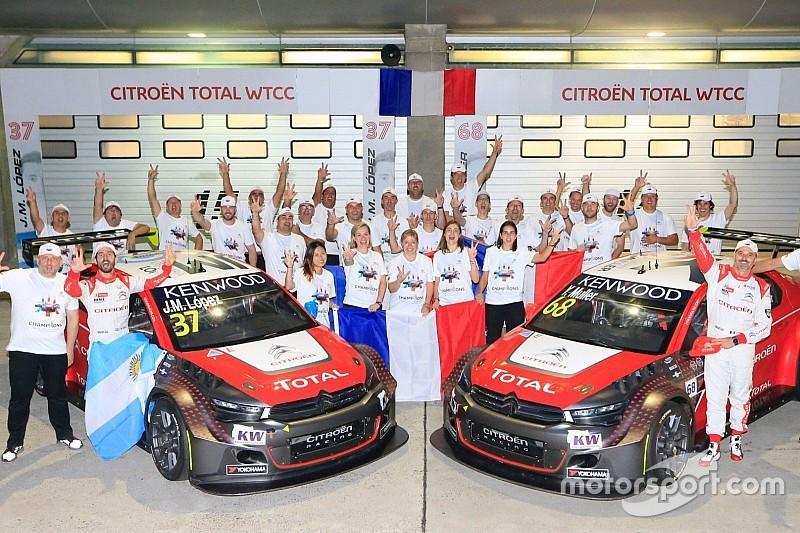 José María López se llevó la pole y Citroën el título