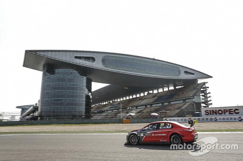 WTCC в Шанхаї: Лопес здобуває поул