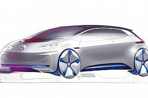 Auto Actualités Mondial de Paris: Le teasing très électrique de Volkswagen