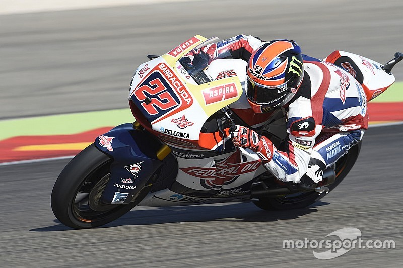 Sam Lowes domina ad Aragon, sul podio Marquez e Morbidelli