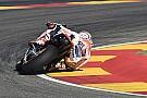 Aragon-Sieger Marc Marquez: Sturz