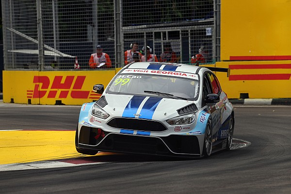 Nicky Pastorelli sulla Ford Focus TCR in Malesia