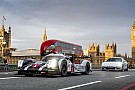 Фотогалерея: Марк Веббер на Porsche 919 в місті Лондон