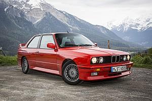 Автомобілі Спеціальна можливість Фотогалерея: 30 років BMW M3